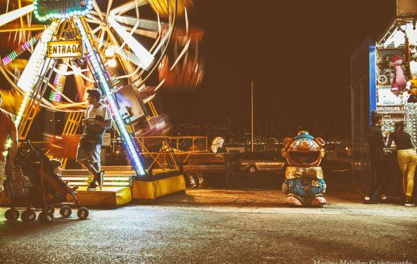 Street photographie – Palamos la nuit