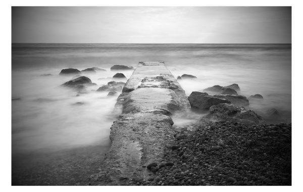 Première tempête – paysage marine