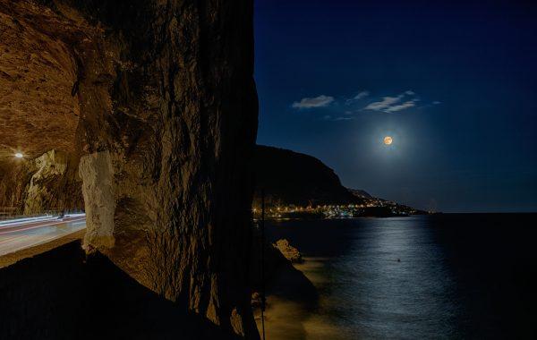 La super lune sur la Côte d'Azur