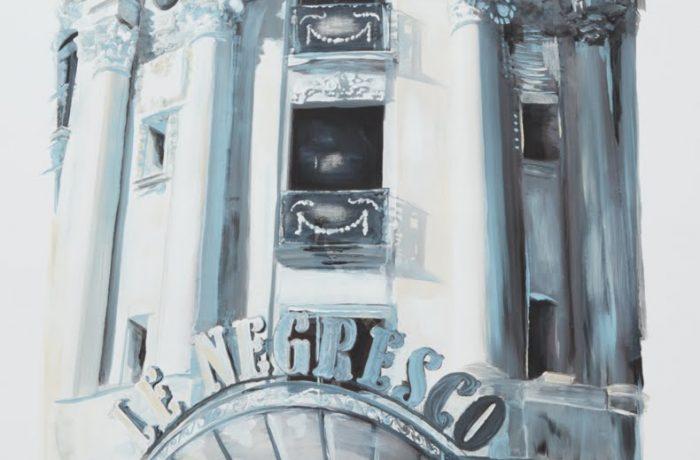 Le Negresco. Photo de d'oeuvre d'art de Christine Chauvain