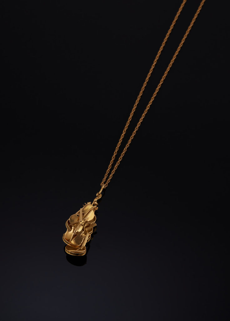 pendentif or - Arman