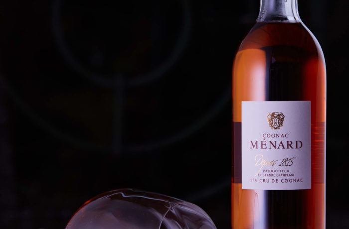 Cognac Ménard – photo packshot